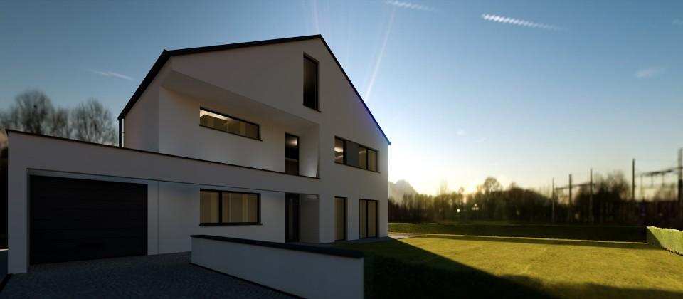 traumhaus neubau architekturb ro liersch architekt recklinghausen marl herten haltern. Black Bedroom Furniture Sets. Home Design Ideas