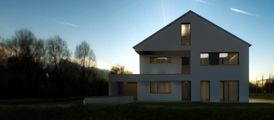 Traumhaus neubau architekturb ro liersch architekt recklinghausen marl herten haltern - Architekt gelsenkirchen ...